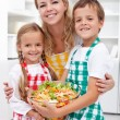 Healthy eating education concept — Stockfoto