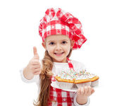 Meus primeiros queques estão prontos — Foto Stock