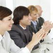 Business applaud — Stock Photo