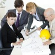 Construction planning — Stock Photo