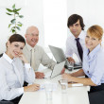 junta empresarial — Foto de Stock
