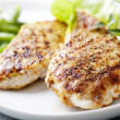 Grilled chicken brest fillet — Stock Photo #9096552