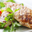 Stock Photo: Grilled chicken brest fillet