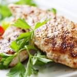 Grilled chicken brest fillet — Stock Photo #9096573
