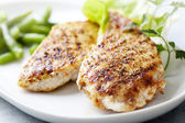 Grilled chicken brest fillet — Stok fotoğraf
