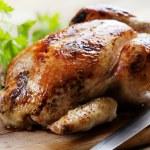 Roast chicken — Stock Photo #9101416