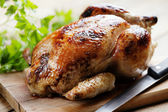 Roast chicken — 图库照片