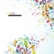 Abstract background with colorful tunes. - Stock Vector