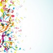 Abstract background with colorful tunes. — Stock Vector #8238605