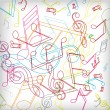 Abstract background with colorful tunes. — Imagens vectoriais em stock