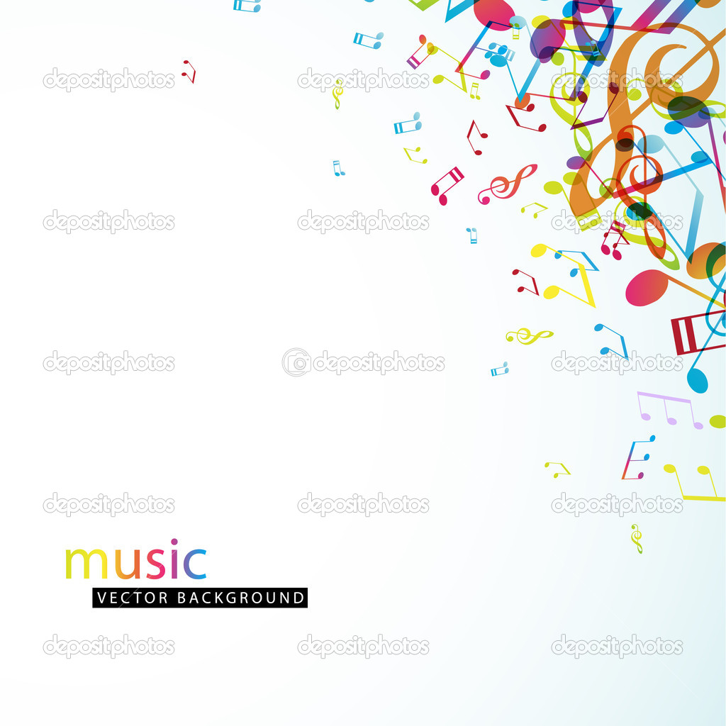 Abstract background with colorful tunes. — Image vectorielle #9958049