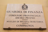 Guardia di Finanza — Stock Photo