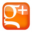 Icon Google+ - Stock Vector