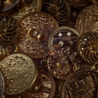 Royalty-Free Stock Photo: Metal buttons