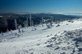 Views of the mountainous — Stock Photo