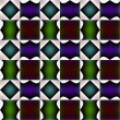 Stock Photo: Tile-able fanciful pattern or bizarre design.