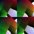 Green-red seamless abstract background. — Stock Photo