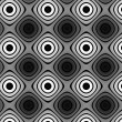 Flat colorless pattern — Stock Photo