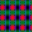 Stock Photo: Green-red complex pattern