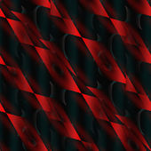 The Red and the Black seamless abstract. — Stock Photo