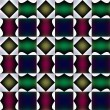 Tile-able fanciful pattern or bizarre design. — Stock Photo #9944667