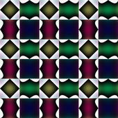 Tile-able fanciful pattern or bizarre design. — Stock Photo