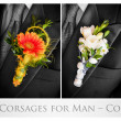 Wedding corsages for man — Stock Photo #8774167