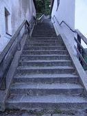 Historic stairway — Stock Photo
