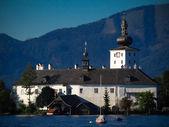 Schloss Ort Gmunden — Stock Photo
