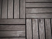 Old wood floor — Stock Photo