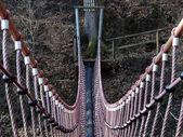Swing bridge — Stock Photo