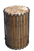 African drumming music instrument — Stock Photo