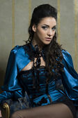 Baroque beauty of woman — Stockfoto