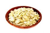 Almonds flakes. — Stock Photo