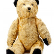 Antique toy bear. - Stock Photo