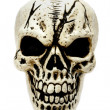 Stock Photo: Creepy skull.