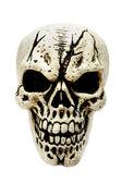 Cranio raccapricciante. — Foto Stock