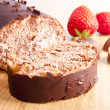 Chocolate cake - Foto Stock