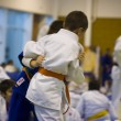 Martial arts, judo — Stock Photo