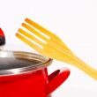 Stock Photo: Cooking pot