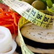 Stock Photo: Weight loss, healthy diet