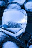 Blocs de glace — Photo