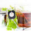 Stock Photo: Glass of tea
