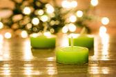 Разрешить написание латиницей английскийрусскийукраинский Candles for spa — Stock Photo
