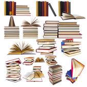 Collectie en set van boeken — Stockfoto