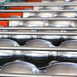 Metal sheet machine — Stockfoto