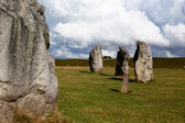 Stone circle in Avebury — Stock Photo