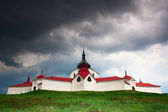 The pilgrimage church zelena hora — Stock Photo