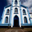 The church on Azores - Stock Photo