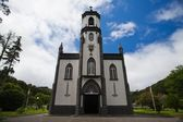 The typical church on Azores — Stock Photo